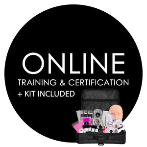 ONLINE Lash Classes | Extensions Training & Certification