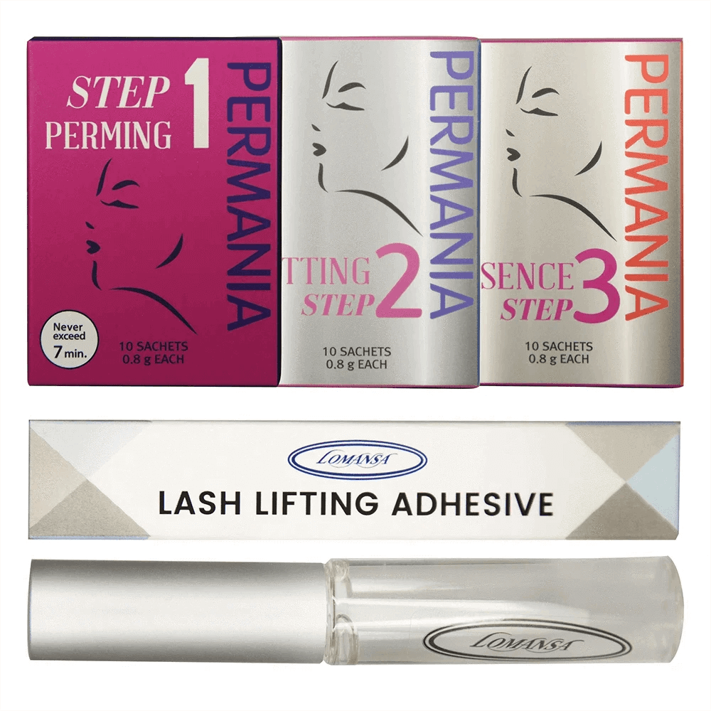 Eyelash Lifting Perming Solutions and Adhesive Refills
