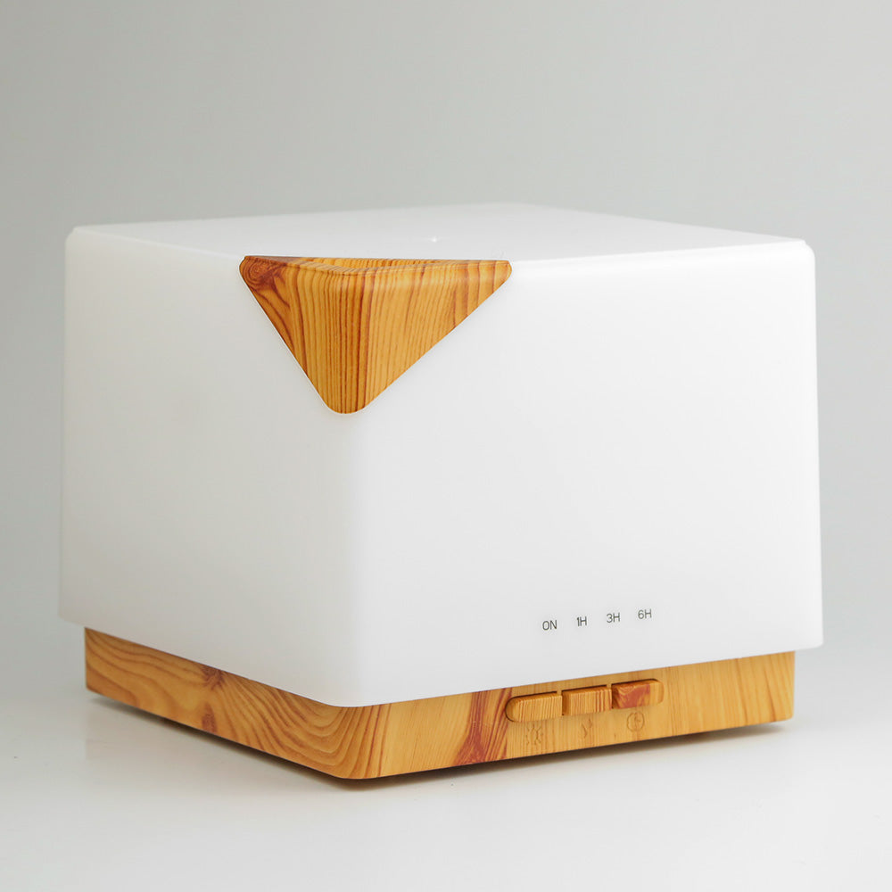 Aroma Diffuser, Humidifier & Lamp- Wooden design
