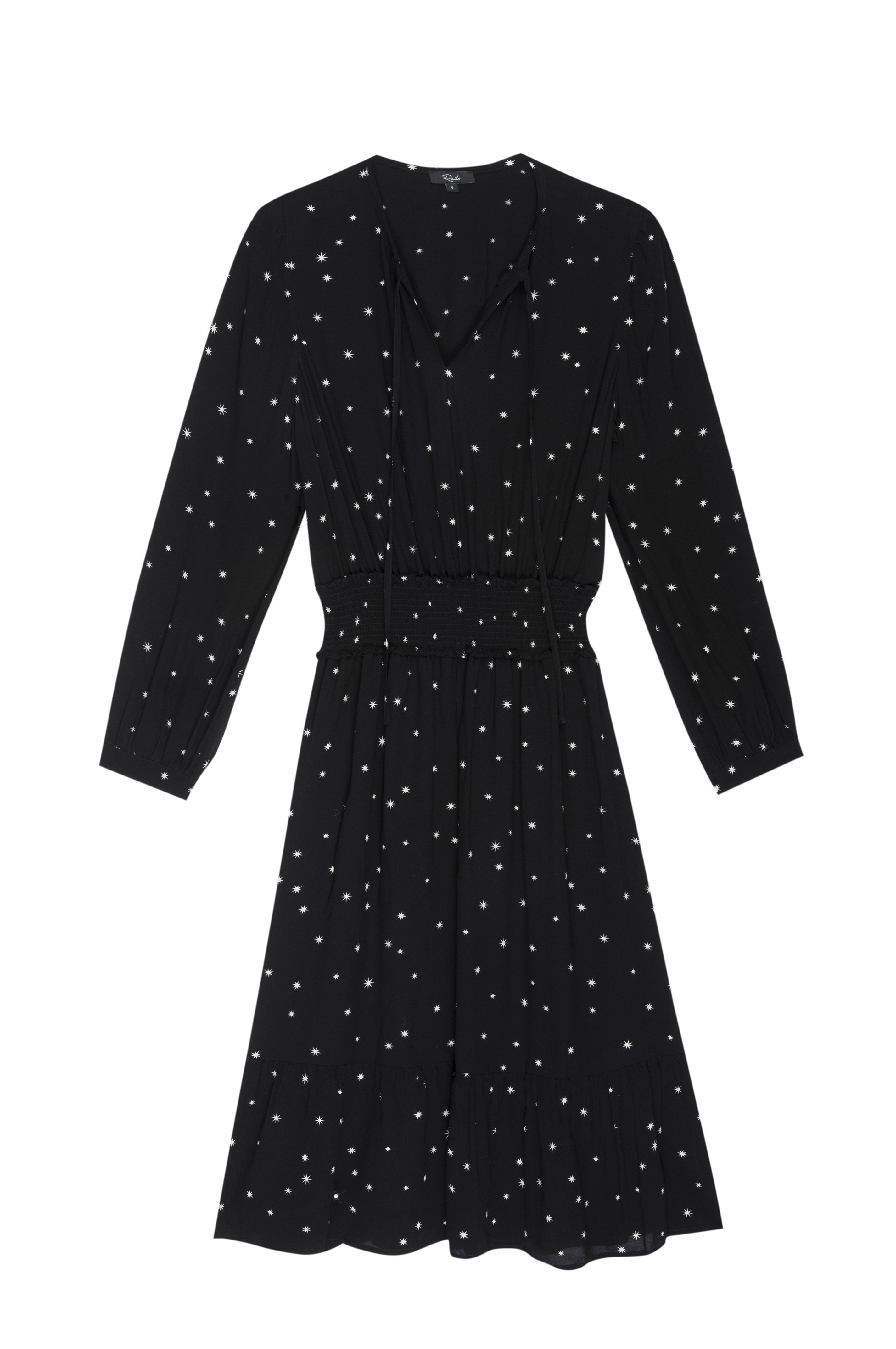 Joy dress - onyx starburst
