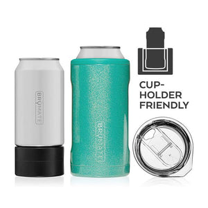 Hopsulator TRiO, 3-in-1 can-cooler - Glitter Rose Gold