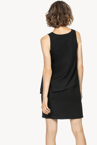 Double layer v-neck dress (PA1017)