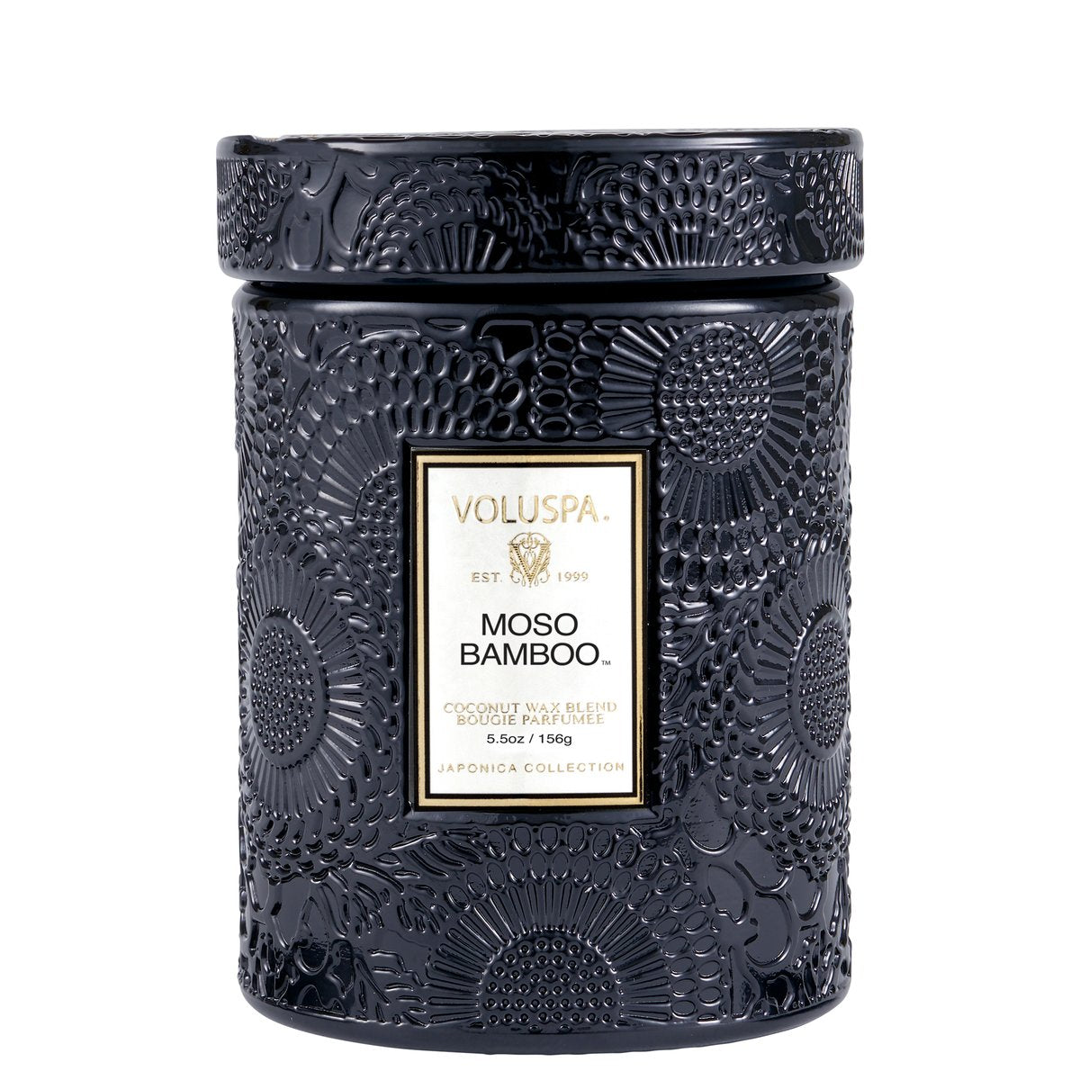 Moso Bamboo Small Jar Candle