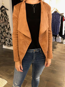 Wade faux suede jacket
