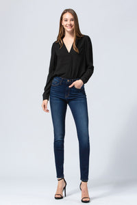 Y3177 - high rise ankle skinny