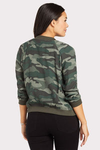 Invisibility mode bomber - army green