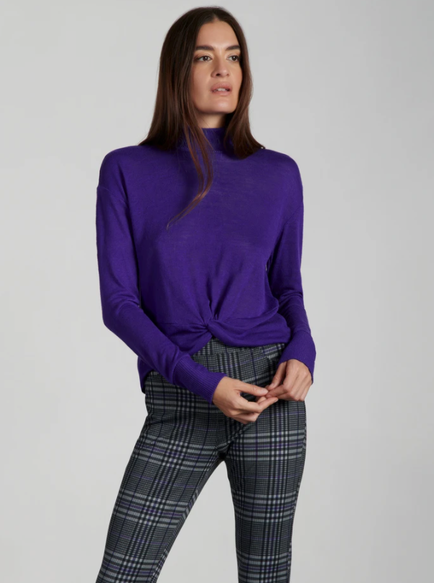 Ready or knot top - violet