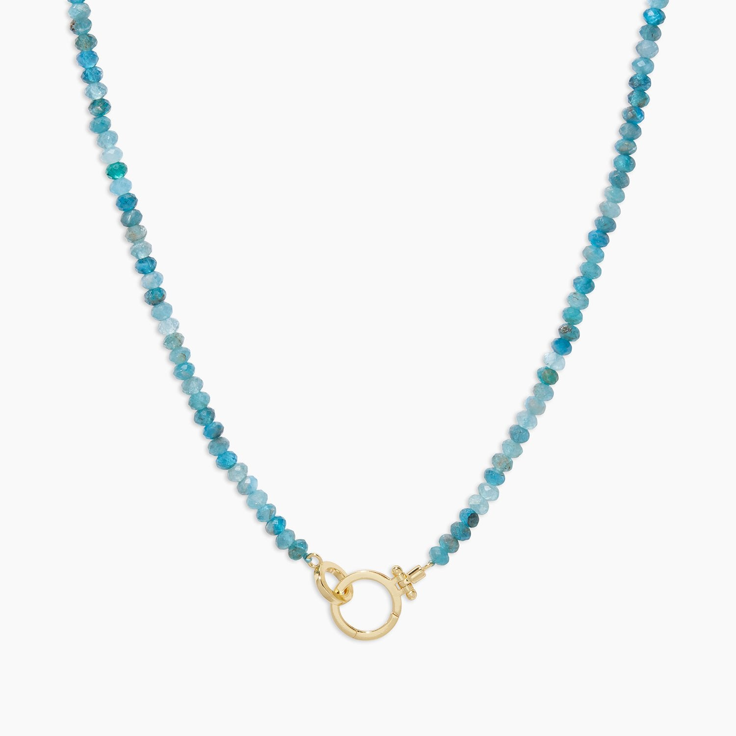 Parker gem necklace - apatite