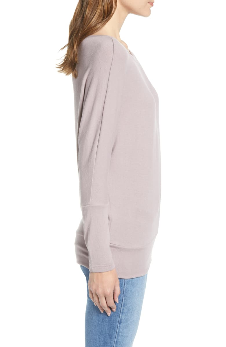Ivery sweatshirt - faded lilac
