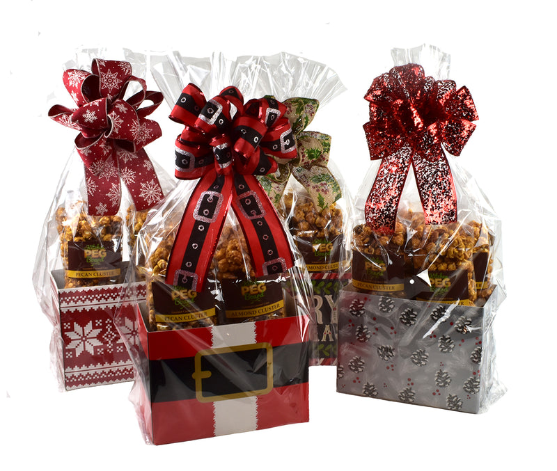 Christmas Popcorn Gift Baskets
