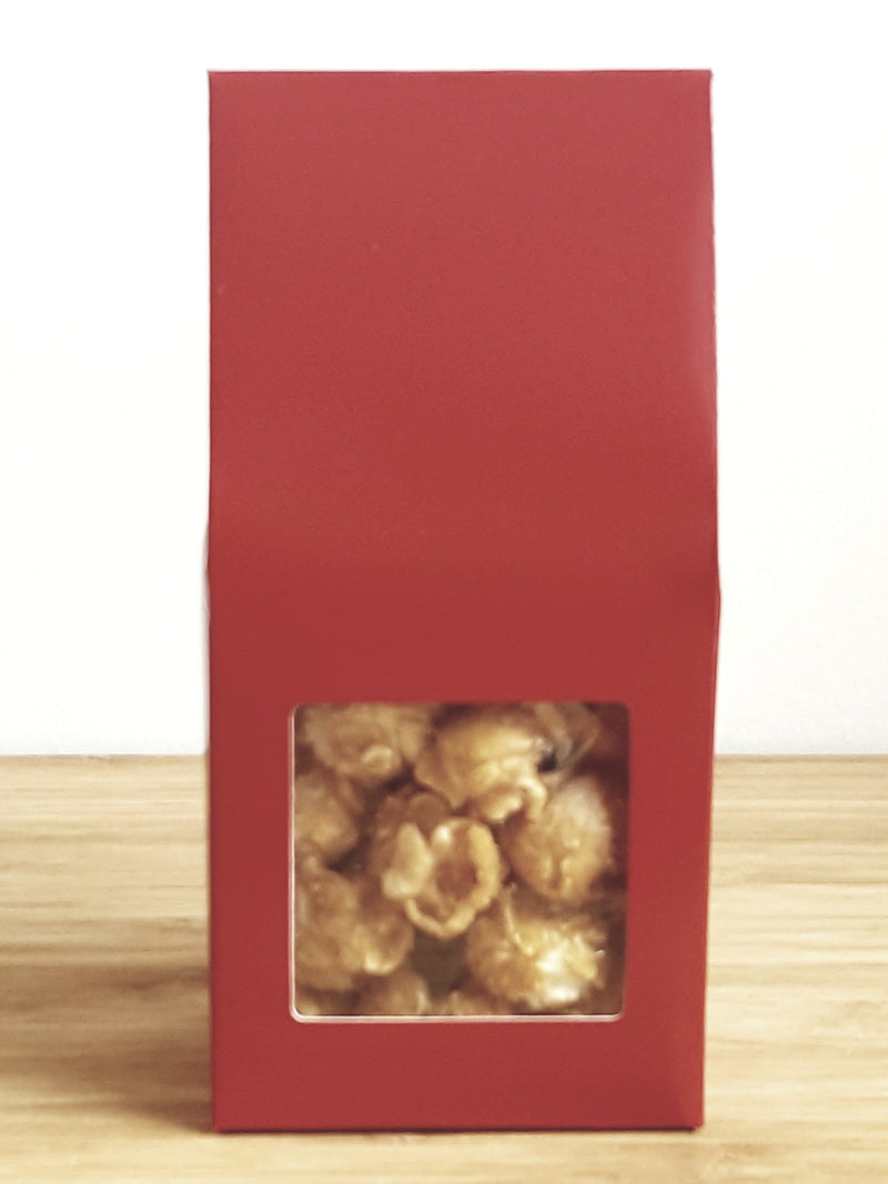 Red Party Favor Popcorn Gable Treat Box