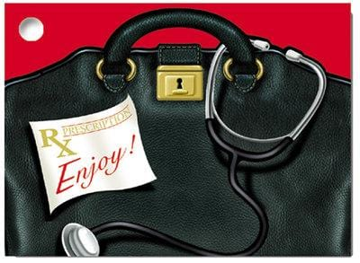 Doctor's Bag Popcorn Gift Card