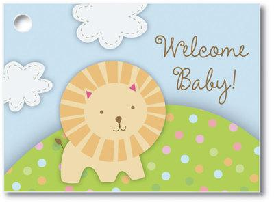 Welcome Baby Popcorn Gift Card