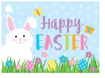Happy Easter Popcorn Gift Card