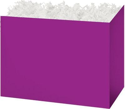 Purple Solid Color Popcorn Gift Basket