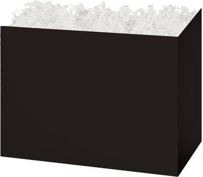 Black Solid Color Popcorn Gift Basket - The Kitchen PEG Board