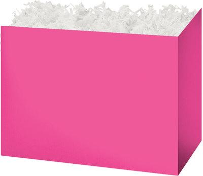Fuchsia Solid Color Popcorn Gift Basket