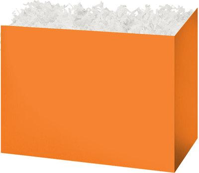 Orange Solid Color Popcorn Gift Basket
