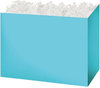 Light Blue Solid Color Popcorn Gift Basket - The Kitchen PEG Board
