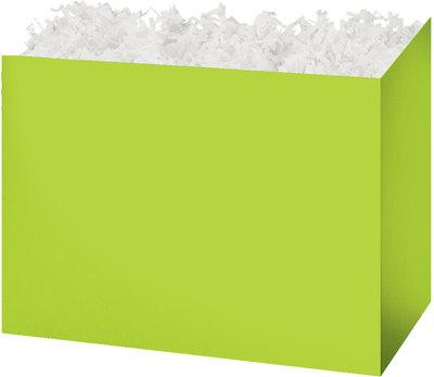 Lime Green Solid Color Popcorn Gift Basket