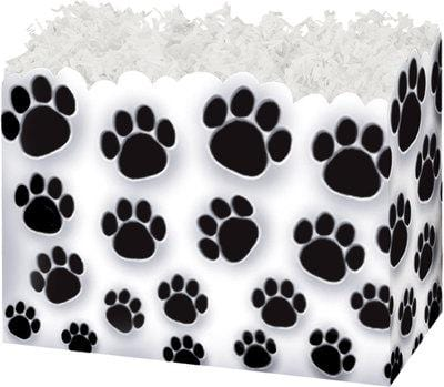 Paw Prints Popcorn Gift Basket - The Kitchen PEG Board