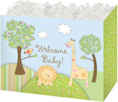 Welcome Baby Popcorn Gift Basket
