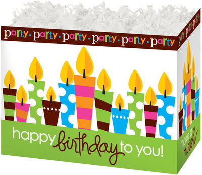 Birthday Party Popcorn Gift Basket