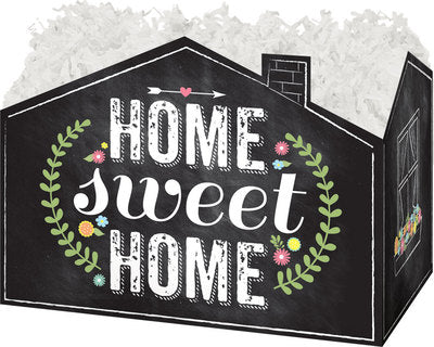 Chalkboard Home Sweet Home Popcorn Gift Basket - The Kitchen PEG Board