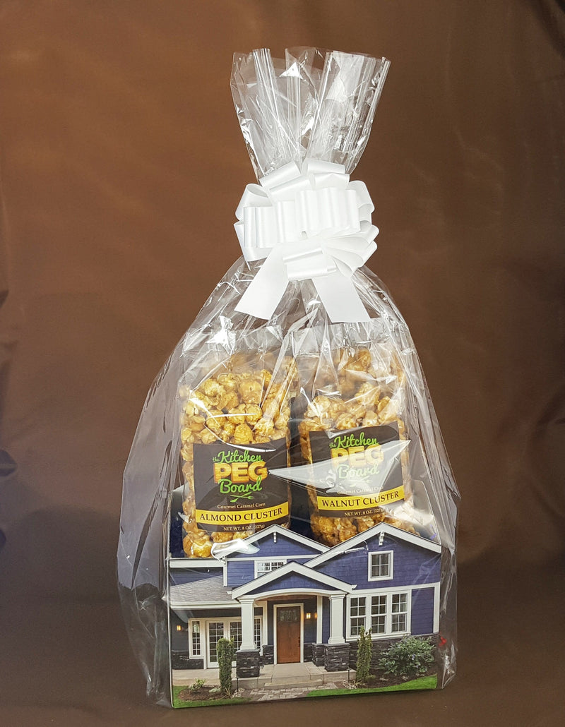 Craftsman Home Popcorn Gift Basket
