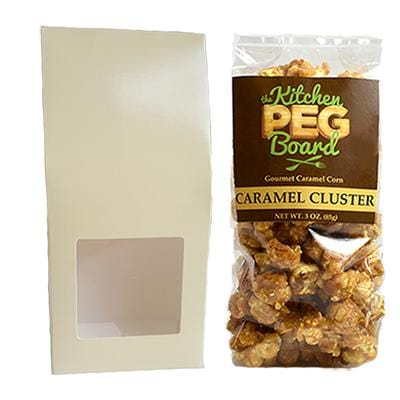 Cream Party Favor Popcorn Gable Treat Box
