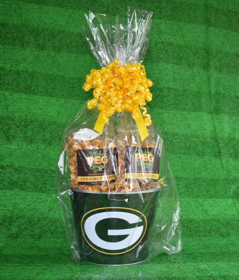 Green Bay Packers Popcorn Gift Bucket