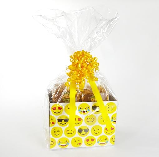 Emojis Popcorn Gift Basket - The Kitchen PEG Board