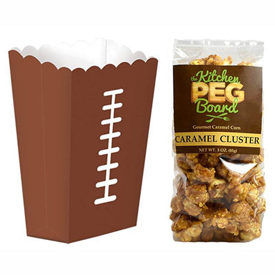 Football Popcorn Treat Box