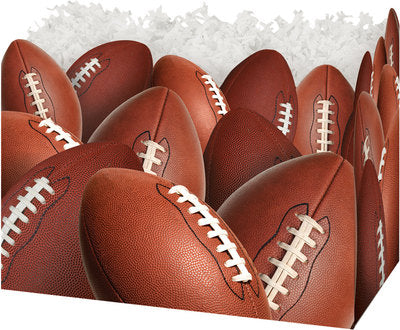 Football Popcorn Gift Basket