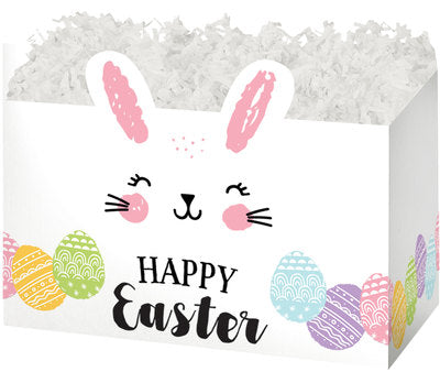 Happy Easter Bunny Popcorn Gift Basket