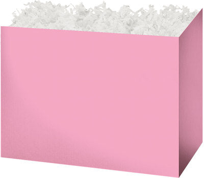 Light Pink Solid Color Popcorn Gift Basket - The Kitchen PEG Board