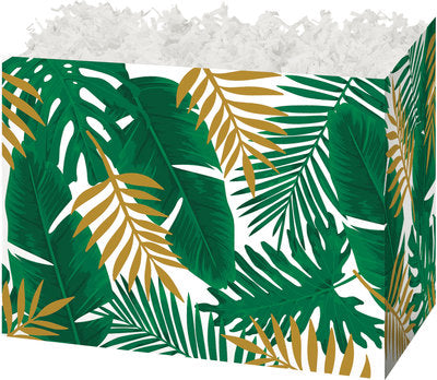 Palm Fronds Popcorn Gift Basket