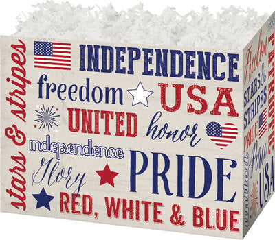 Patriotic Popcorn Gift Baskets