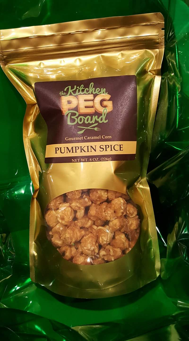 Pumpkin Spice Caramel Popcorn - Stand-Up Pouch Bags