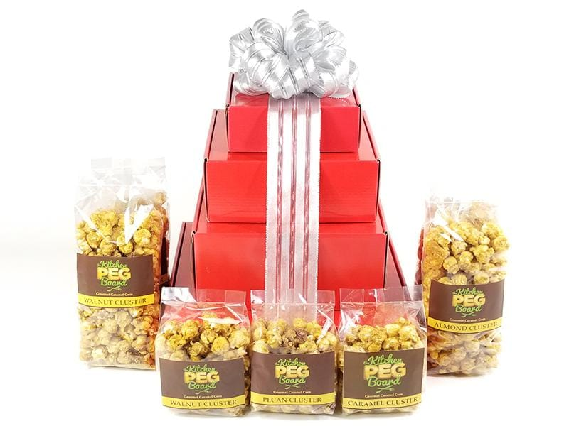 Red and Silver Popcorn Gift Card