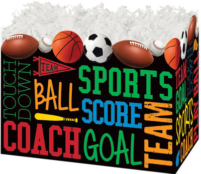 Sports Fanatic Popcorn Gift Basket - The Kitchen PEG Board
