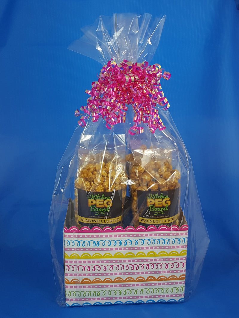 Sweet Swirls Popcorn Gift Basket