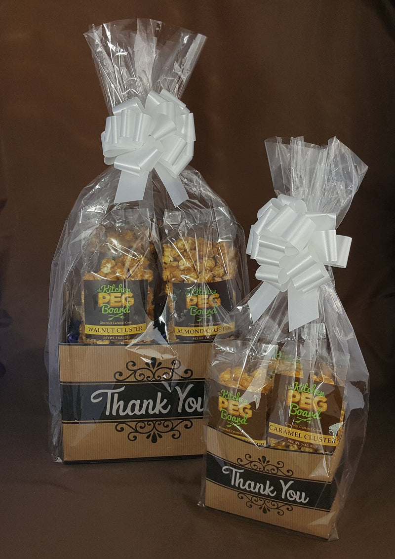 Thank You Kraft Popcorn Gift Basket