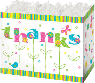 Thanks In Bloom Popcorn Gift Basket