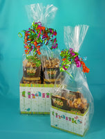 Thanks In Bloom - Popcorn Gift Basket