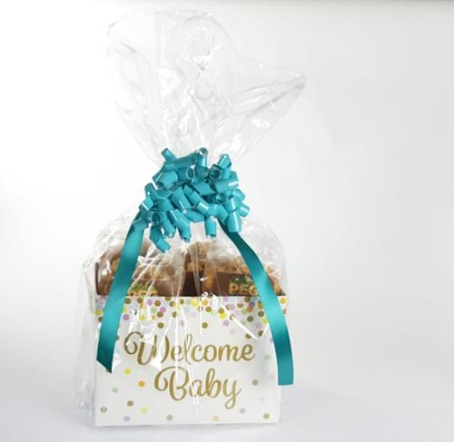 Welcome Baby Confetti Popcorn Gift Basket