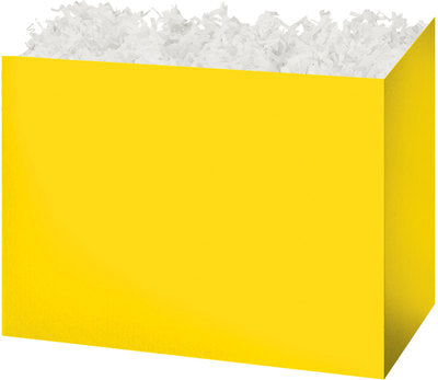Yellow Solid Color Popcorn Gift Basket
