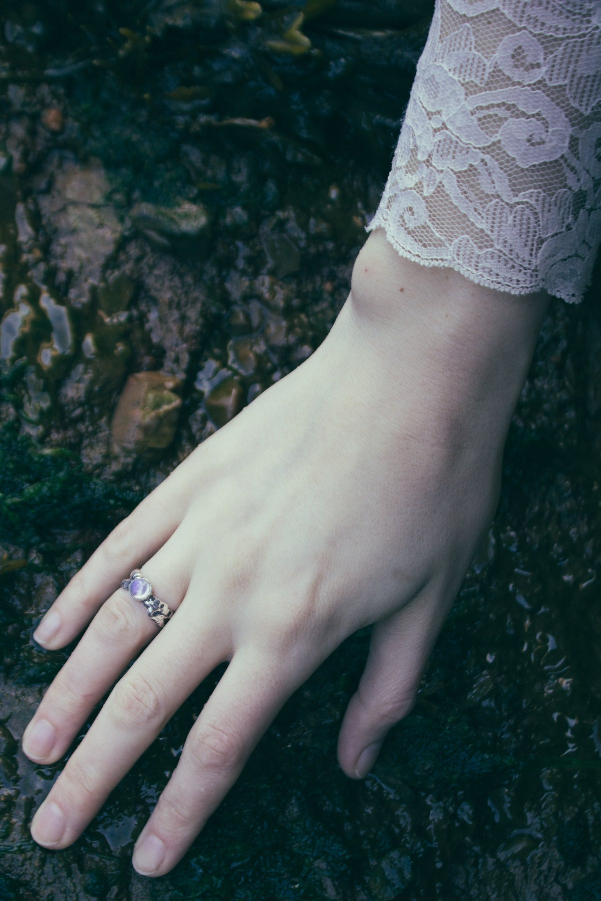 Idyll Moonstone Ring