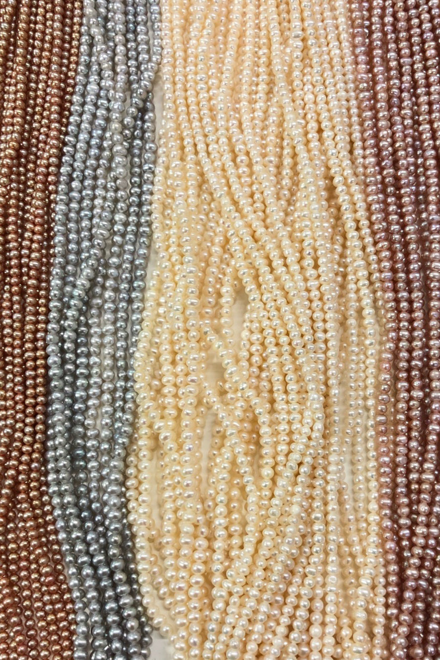 Pearl colour choices natural