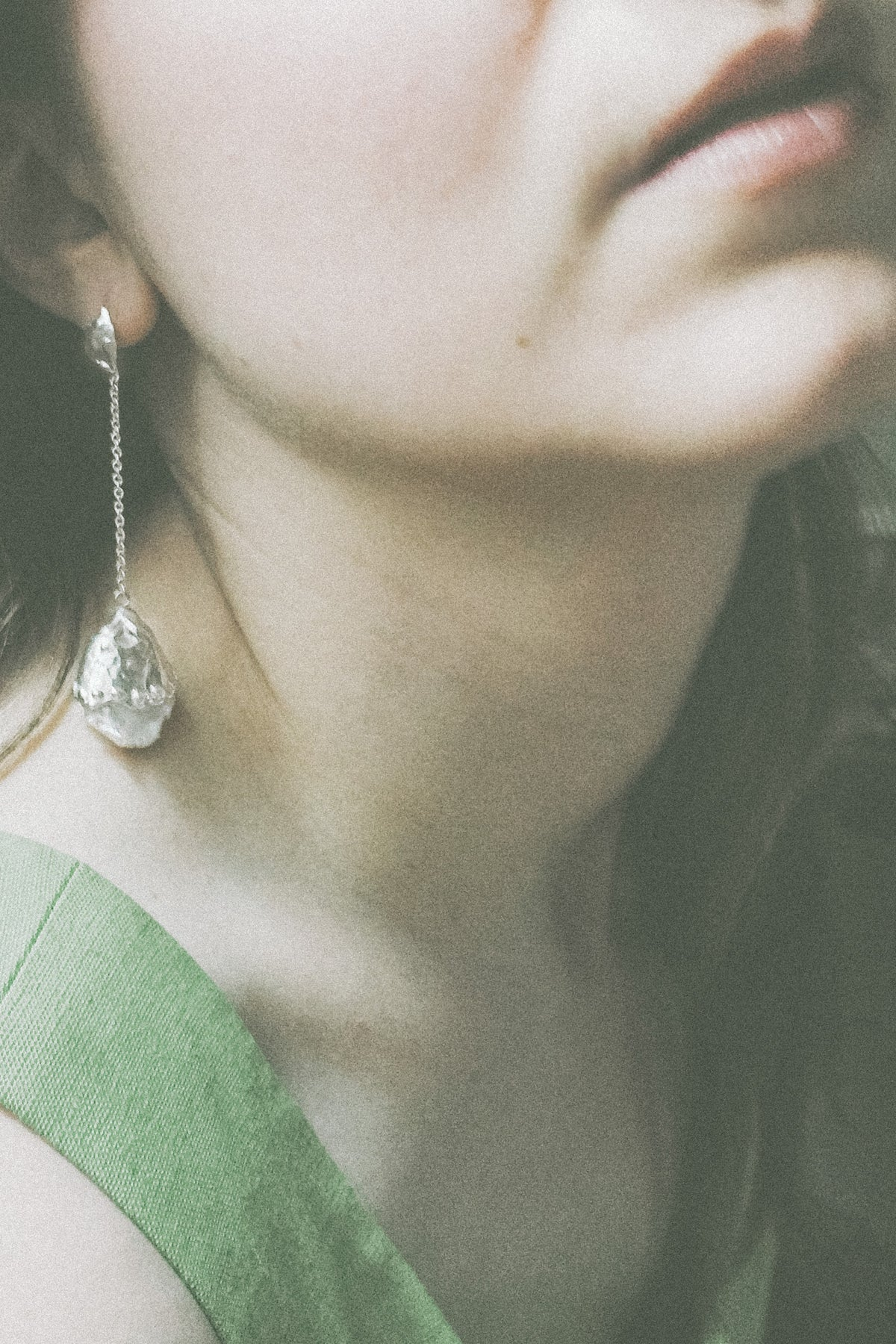 Luna Pearl Drop Earrings RYHN jewellery At Evenfall Collection